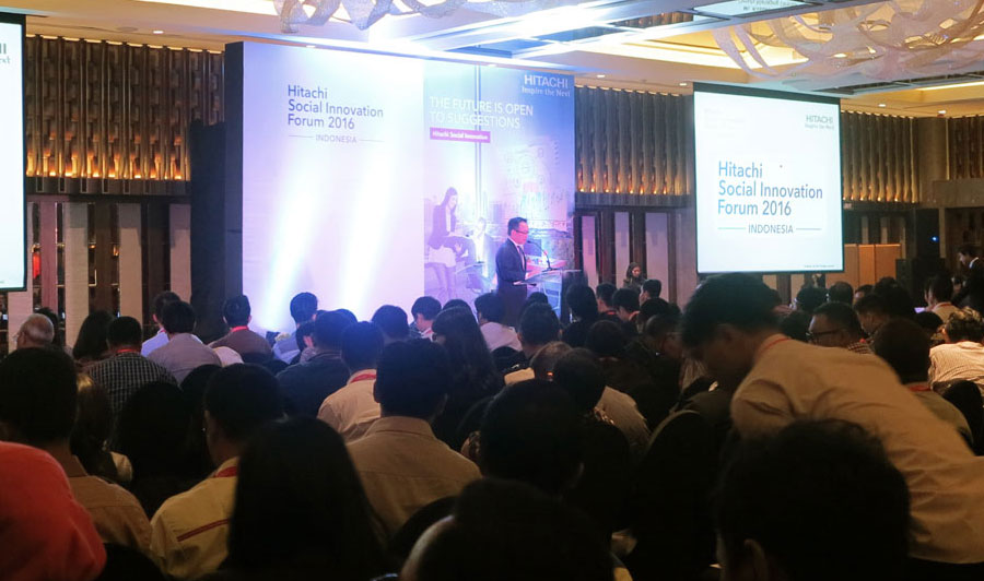 Hitachi Social Innovation Forum 2017 in Indonesia