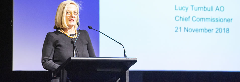Lucy Turnbull AO, Chief Commissioner of the Greater Sydney Commission