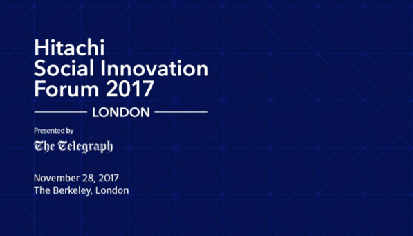 Hitachi Social Innovation Forum 2017 London