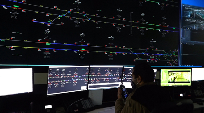Train Control System (CBTC) for Noida Metro