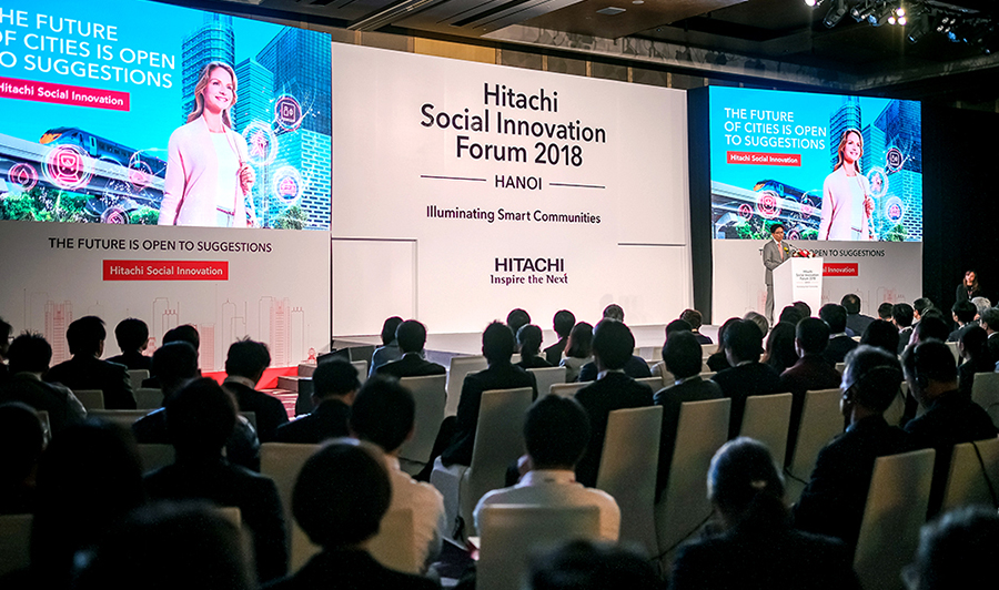 Hitachi Social Innovation Forum 2017 in Vietnam