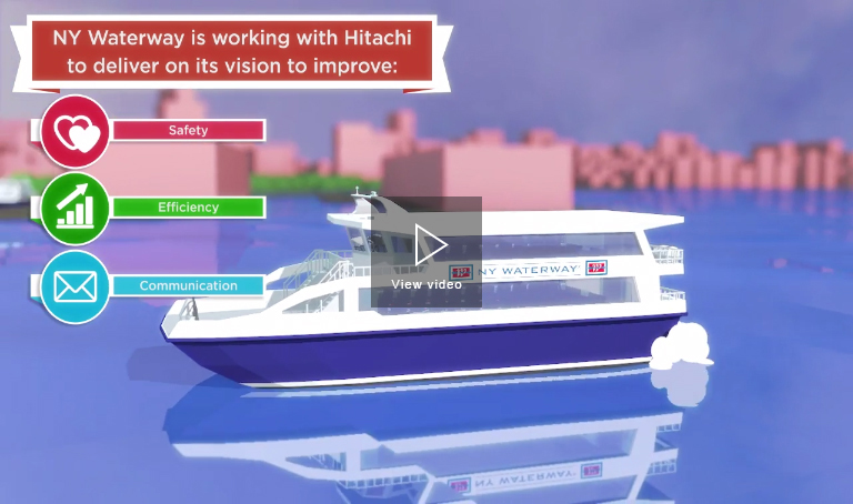 NY Waterway Ferry and the Internet of Things – Hitachi