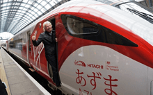 The UK's New Advanced Azuma Trains Accelerate Faster and Arrive Earlier