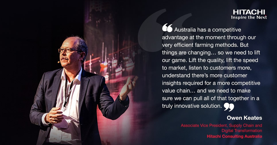 Owen Keates touched on Digital Transformation in Agriculture